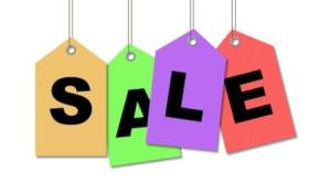 hanging sale